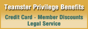 Teamster Privilege Credit Card